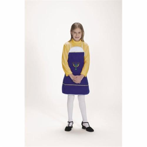 Halco 7061-C Hanukkah Apron- Size Child 4-12 Perspective: front