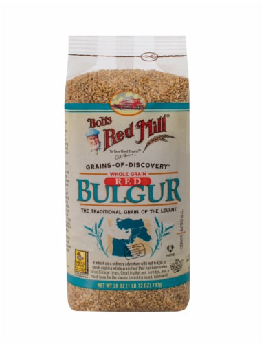 Bob's Red Mill Red Bulgur Perspective: front