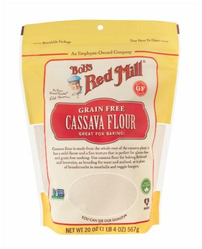 Bob's Red Mill Grain Free Cassava Flour Perspective: front