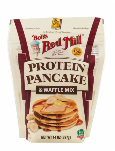 Bob's Red Mill Protein Pancake & Waffle Mix Perspective: front