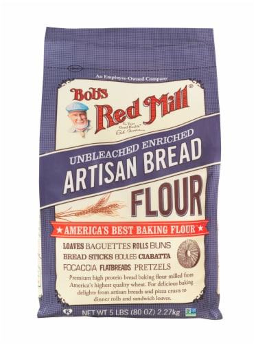 Bob's Red Mill Artisan Bread Flour Perspective: front