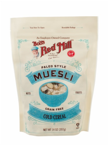 Bob's Red Mill  Paleo Style Muesli Cold Cereal Perspective: front
