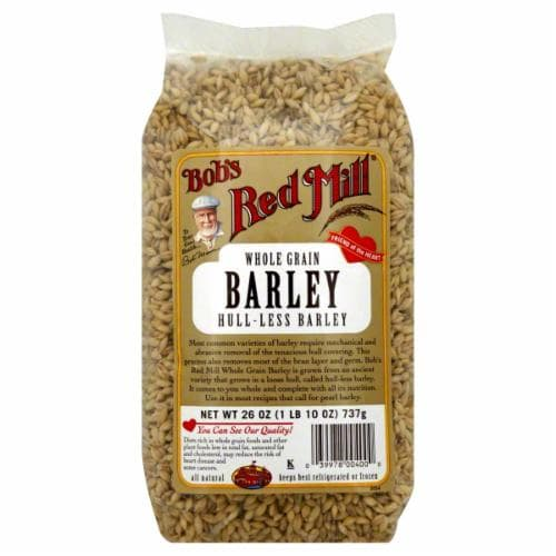 Bob's Red Mill Hulled Barley Perspective: front