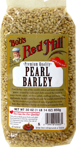 Bob's Red Mill Pearl Barley Perspective: front