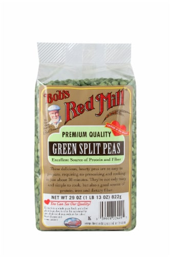 Bob's Red Mill Green Split Peas Perspective: front