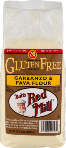 Bob's Red Mill Gluten Free Garbanzo & Fava Flour Perspective: front