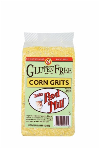 Bob's Red Mill Gluten Free Corn Grits Perspective: front