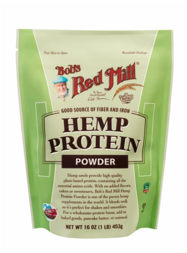 Bob's Red Mill Hemp Protein Powder Perspective: front