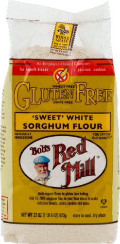 Bob's Red Mill Gluten Free Sweet White Sorghum Flour Perspective: front