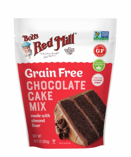 Bob's Red Mill Grain Free Chocolate Cake Mix Perspective: front
