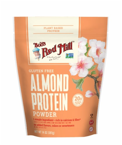 Bob's Red Mill Gluten Free Almond Protein Powder Perspective: front