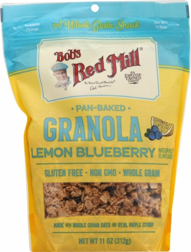 Bob's Red Mill Lemon Blueberry Granola Perspective: front
