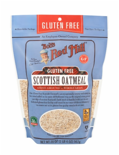 Bob's Red Mill Gluten Free Scottish Oatmeal Perspective: front