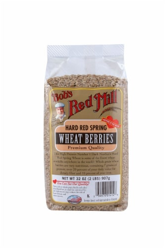 Bob's Red Mill Hard Red Wheat Berries Perspective: front