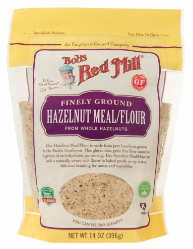 Bob's Red Mill Finely Ground Hazelnut Flour Perspective: front
