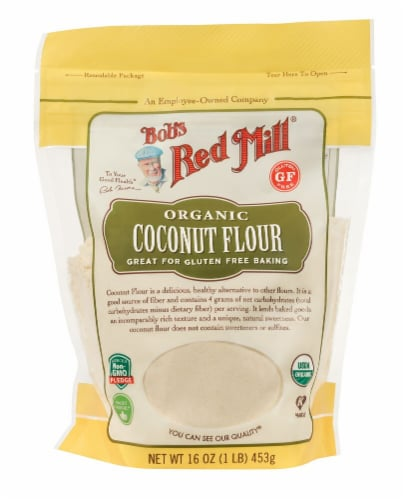 Bob's Red Mill Organic Coconut Flour Perspective: front