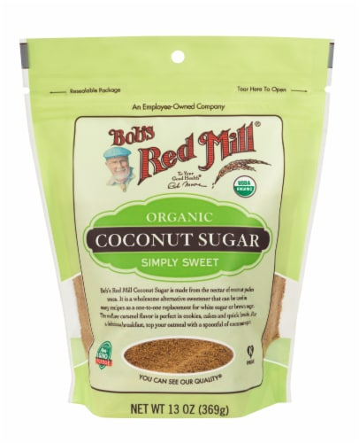 Bob's Red Mill Organic Coconut Sugar Perspective: front