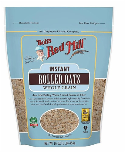 Bob's Red Mill  Instant Rolled Oats Perspective: front