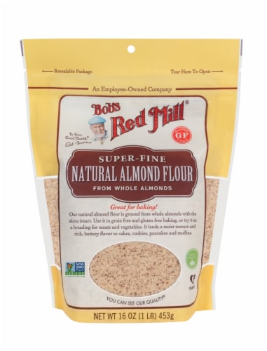 Bob's Red Mill Super-Fine Natural Almond Flour Perspective: front