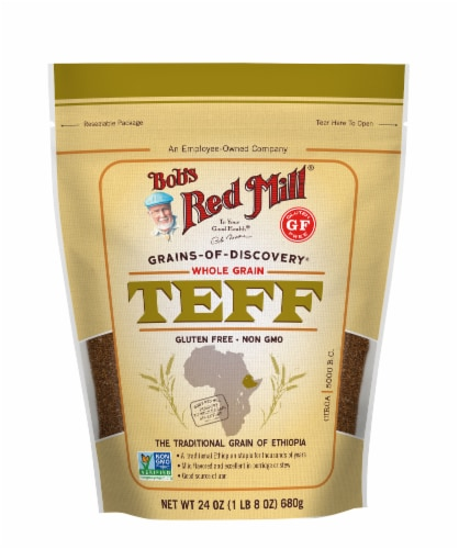 Bob's Red Mill Whole Grain Teff Perspective: front