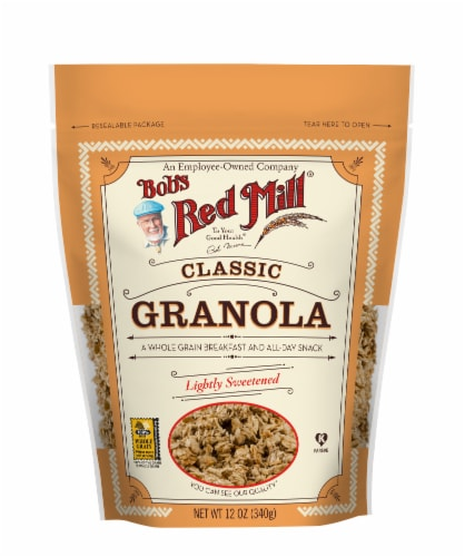 Bob's Red Mill Natural Granola Perspective: front