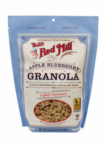 Bob's Red Mill Apple Blueberry Granola Perspective: front
