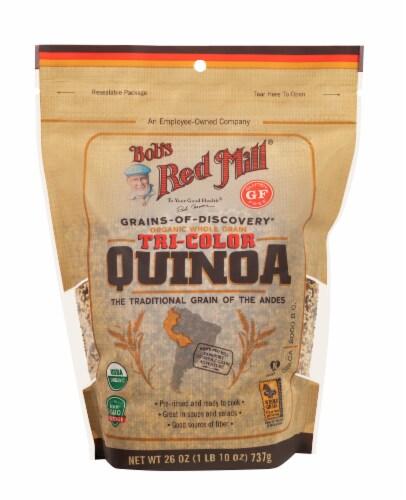 Bob's Red Mill Organic Tri-Color Quinoa Perspective: front