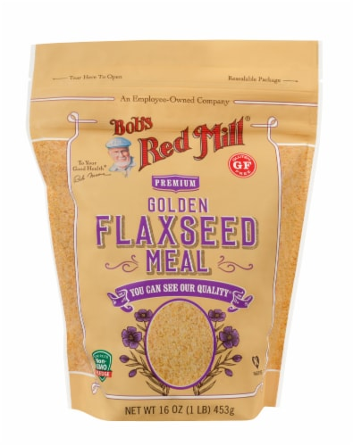Bob's Red Mill Golden Flaxseed Meal Perspective: front