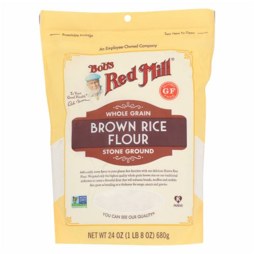 Bob's Red Mill Brown Rice Flour Perspective: front