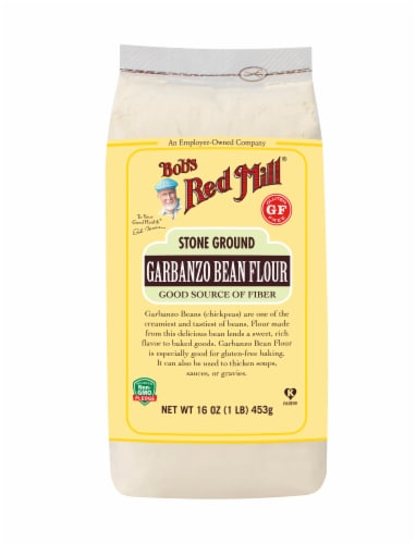 Bob's Red Mill Stone Ground Garbanzo Bean Flour Perspective: front
