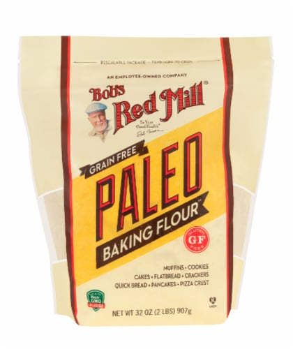 Bob's Red Mill Grain Free Paleo Baking Flour Perspective: front