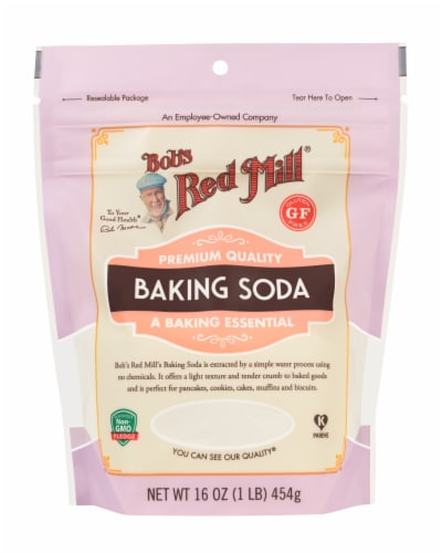 Bob's Red Mill Gluten Free Baking Soda Perspective: front