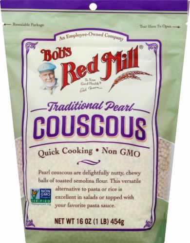 Bob's Red Mill Traditional Pearl Couscous Perspective: front