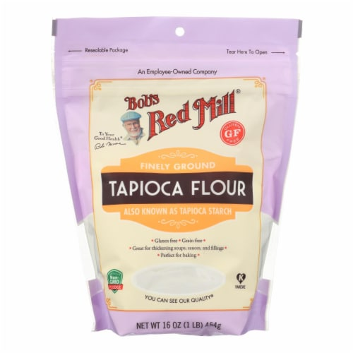Bob's Red Mill Finely Ground Tapioca Flour Perspective: front