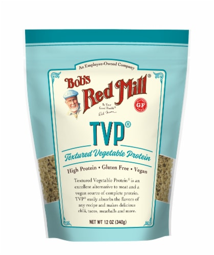 Bob's Red Mill Textured Vegetable Protein Perspective: front
