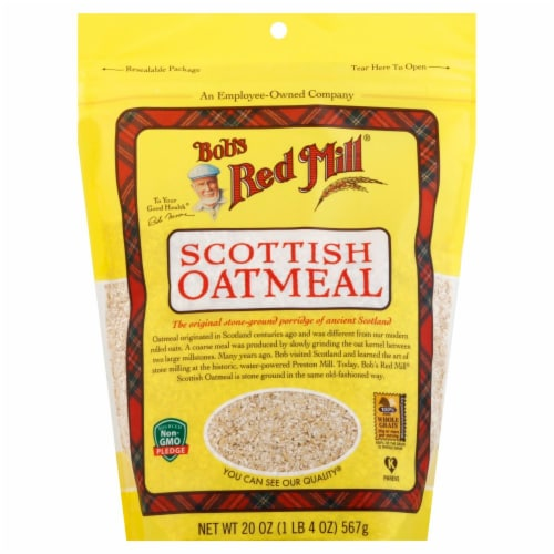 Bob's Red Mill Scottish Oatmeal Perspective: front