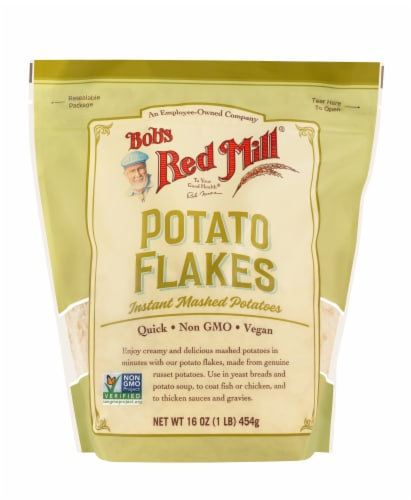Bob's Red Mill Potato Flakes Instant Mashed Potatoes Perspective: front