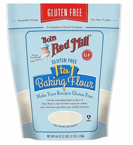 Bob's Red Mill Gluten Free 1 to 1 Baking Flour Perspective: front