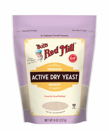 Bob's Red Mill Active Dry Yeast Perspective: front