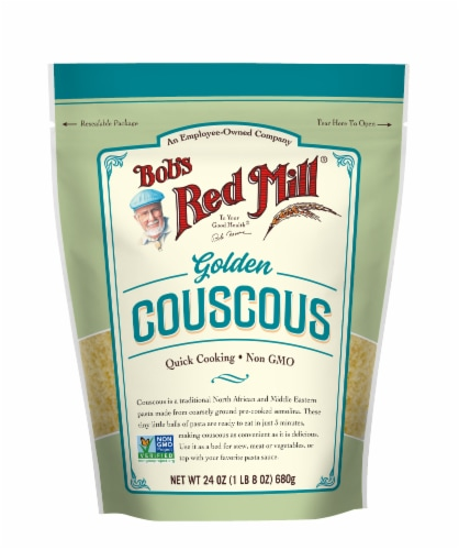Bob's Red Mill Golden Couscous Perspective: front