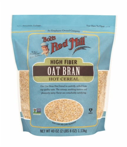 Bob's Red Mill High Fiber Hot Cereal Perspective: front