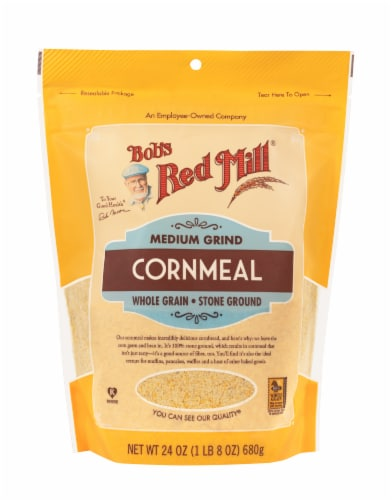 Bob's Red Mill Medium Grind Cornmeal Perspective: front
