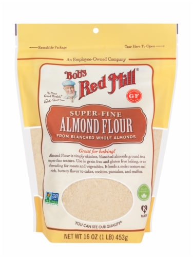 Bob's Red Mill Super-Fine Almond Flour Perspective: front