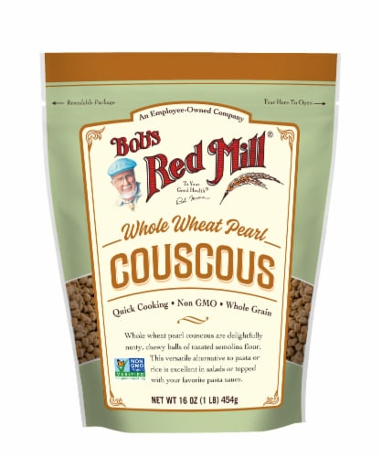 Bob's Red Mill Whole Wheat Pearl Couscous Perspective: front