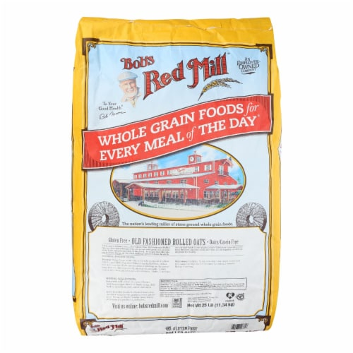 Bob's Red Mill Gluten Free Old Fashioned Rolled Oats Perspective: front
