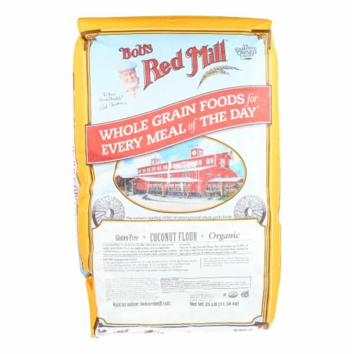Bob's Red Mill Organic Flour Coconut - Single Bulk Item - 25LB Perspective: front
