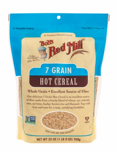 Bob's Red Mill 7 Grain Cereal Perspective: front