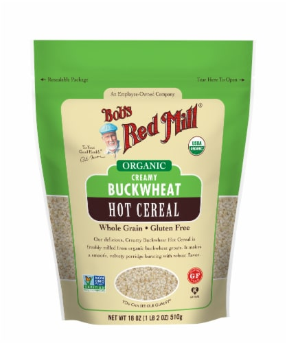 Bob's Red Mill Organic Creamy Buckwheat Cereal Perspective: front