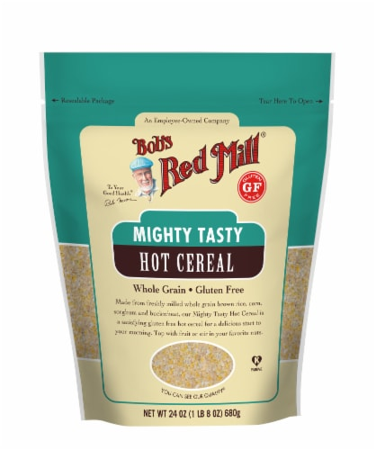 Bob's Red Mill Gluten Free Mighty Tasty Hot Cereal Perspective: front