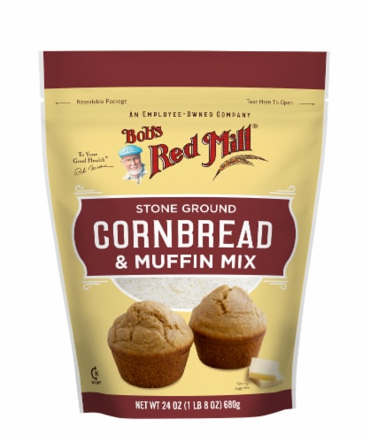 Bob's Red Mill Stone Ground Cornbread & Muffin Mix Perspective: front